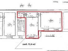 Аренда офиса 72.8 кв.м, Лермонтовский пр-кт., дом 7