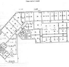 Аренда офиса 2 400 кв.м, Конституции пл., дом 1