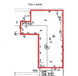 Помещение №406: план