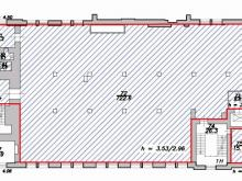 Аренда офиса 788.5 кв.м, Чкаловский пр-кт., дом 50, Корпус 1, Литера А