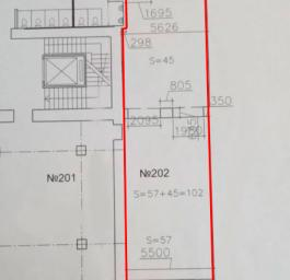 Аренда офиса 102 кв.м, Малый П.С. пр-кт., дом 5, Корпус А