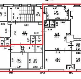 Аренда офиса 208 кв.м, Обуховской Обороны пр-кт., дом 70, Корпус 2