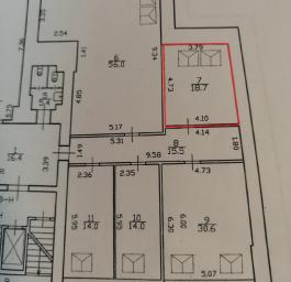 Аренда офиса 18.7 кв.м, Социалистическая ул., дом 14
