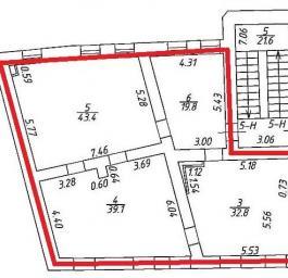 Аренда офиса класса «А» 135.1 кв.м, Гривцова пер., дом 4, Строение А