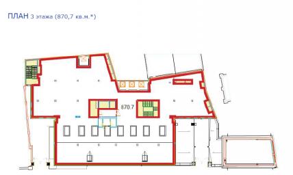 Аренда офиса класса «А» 870.7 кв.м, Введенский канал., дом 4