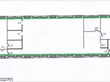Помещение №405-412: план
